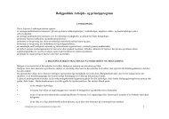 Boligpolitisk Arbejds- og principprogram - Lejernes LO