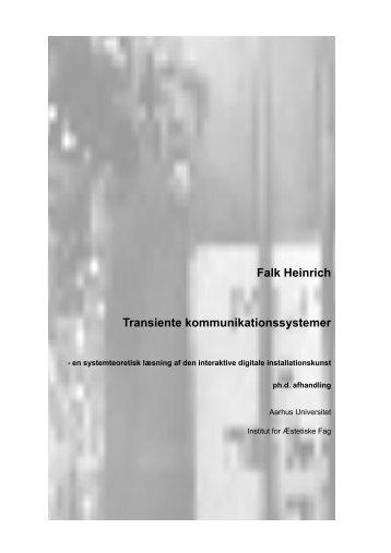 Falk Heinrich Transiente kommunikationssystemer - ucla.edu