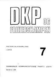 DKP og Frihedskampen Bind 7
