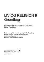 Grundbog LIV OG RELIGION 9 - Syntetisk tale