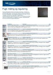 Fugt- måling og regulering - LS Control A/S