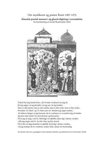 rumi digte på dansk
