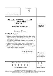 ARKUSZ PRÓBNEJ MATURY Z OPERONEM - Gazeta.pl