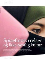 Spiseforstyrrelser og ikke-vestlig kultur - Elbo