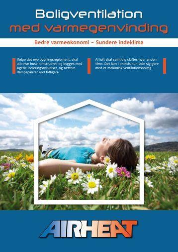 Hent katalog over vores Boligventilation Airheat 250 BX