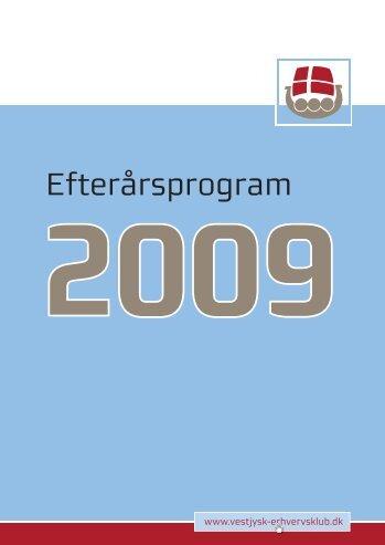 Efterårsprogram - Varde Erhvervs- og Turistråd