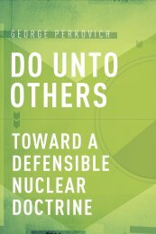 toward a defensible nuclear doctrine - Carnegie Endowment for ...