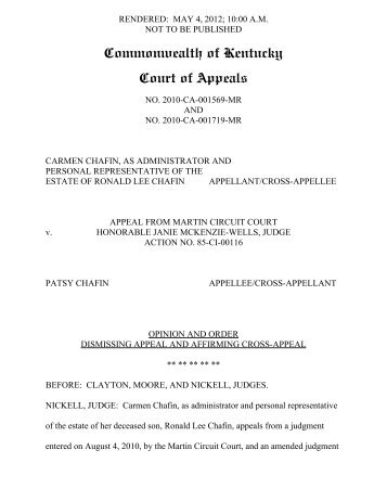 2010-CA-001569 - Kentucky Supreme Court Searchable Opinions