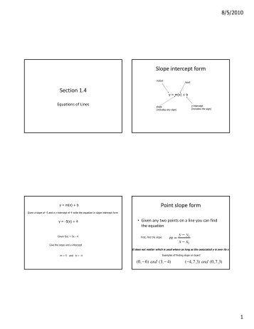 Slope Intercept Form Worksheet Sd43