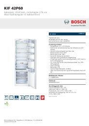 Bosch KIF 42P60