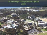 Housing, Transportation and Parking - Sustainability at UC
