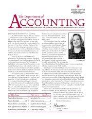 2012 Newsletter - Kelley School of Business - Indiana University