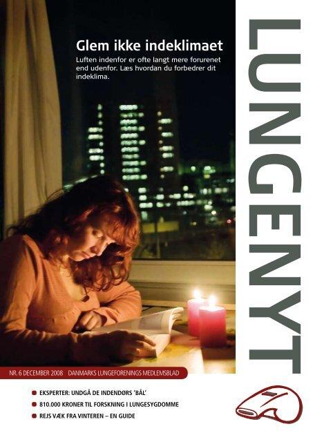 Glem ikke indeklimaet - Danmarks Lungeforening