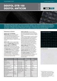Dekfol DTB 150 Anticon_11_2007_SK.indd - DEKTRADE