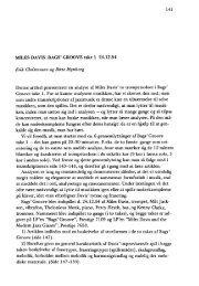 141 MILES DAVIS: BAGS' GROOVE take l 24.12.54 Erik Christensen ...