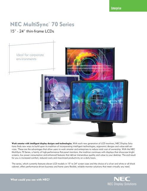 Sound bar Nec Multisync Sound bar 70 Speaker Screen Computer PC