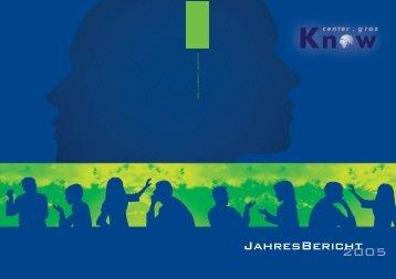 Geschäftsbericht 2005 - Know-Center