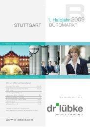 Dr. Lübke GmbH - Büromarkt Stuttgart H1 2009 - Immobilienverlag ...