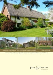 FARMHOUSE, FOUR HOLIDAY COTTAGES ... - Fine & Country