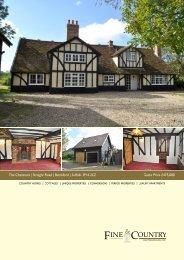 The Chestnuts | Straight Road | Battisford | Suffolk ... - Fine & Country
