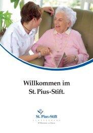 Broschüre (1,5 MB) - St. Pius-Stift Cloppenburg