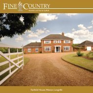 Fairfield House,Weston Longville - Fine & Country