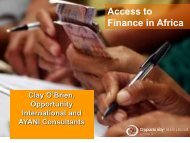 Download Banking on Africa conference: Barclay O'Brien presentation