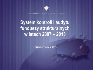 System kontroli 2007-13 - p.wnp.pl