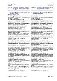 GEN 1.6 Summary of National Regulations and ... - Trafikstyrelsen