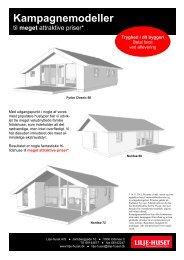 Kampagnemodeller inkl. priser - Lilje-huset A/S