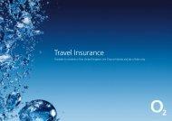 Travel Insurance - O2 Family