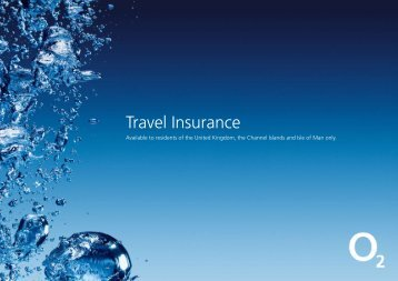 Travel Insurance - O2 Family