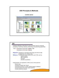 1 GIS Principles & Methods - Capita
