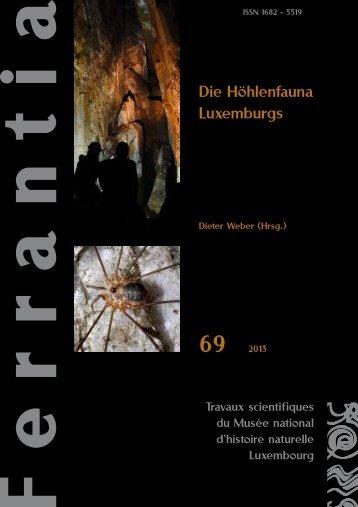 Weber (Hrsg.) (2013): Die Höhlenfauna Luxemburgs