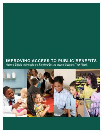 Improving Access to Public Benefits - The Center for High Impact ...