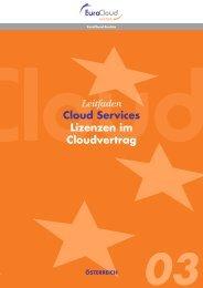 Leitfaden Cloud Services Lizenzen im ... - EuroCloud.Austria