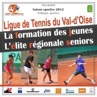 PLAQUETTE LIGUE DU Val d'Oise 2011-2012 - Index of