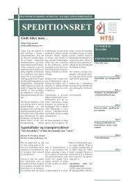 Speditionsret nr. 20 - Danske Speditører