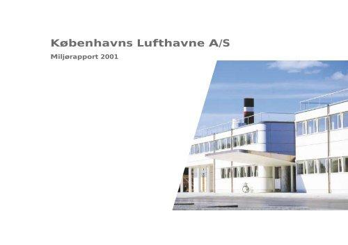 Miljørapport 2001 - Københavns Lufthavne