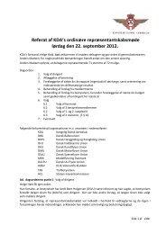 Referat fra KDA's ordinæere repræsentantskabsmøde 22 ...