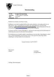 Les innkalling og saksliste.pdf - Lyngen kommune