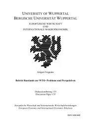 Beitritt Russlands zur WTO- Probleme und Perspektiven - EIIW