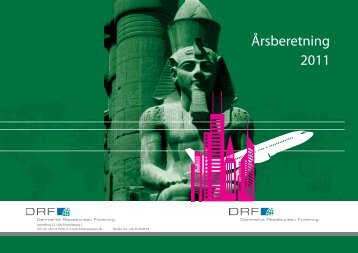 Årsberetning 2011 - Danmarks Rejsebureau Forening