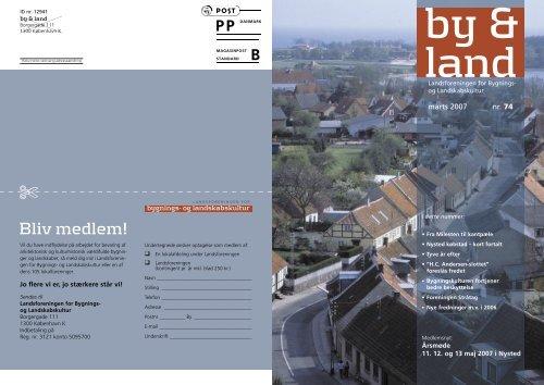 By & Land - marts 2007.pdf - Bygningskultur Danmark