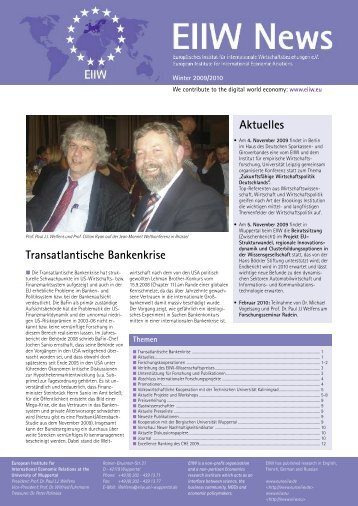 Ausgabe 2009 - EIIW