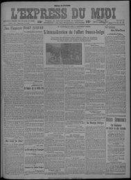 11 février 1923 - Bibliothèque de Toulouse