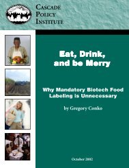 Eat, Drink, and be Merr and be Merry - Competitive Enterprise Institute
