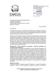 CIVICUS envía comunicación al Presidente de Nicaragua