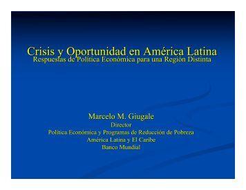 Crisis y Oportunidad en América Latina: Respuestas de Política ...
