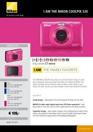 I aM thE NIKON COOLpIx S30 THE FAMILY FAVORITE I AM - VB